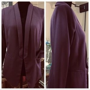 H&M Career Blazer Burgundy Color.  Size 8